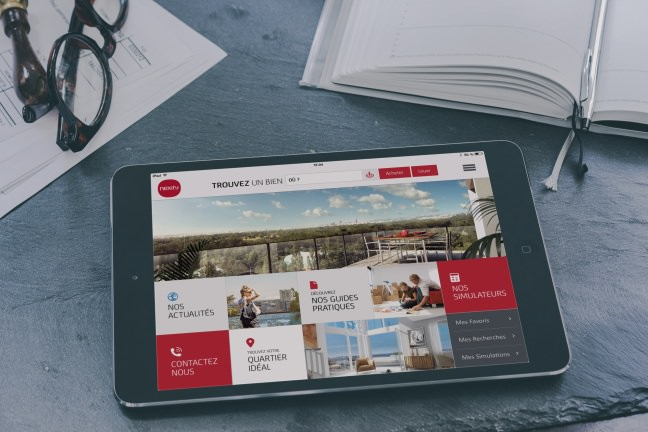 application mobile immobilier
