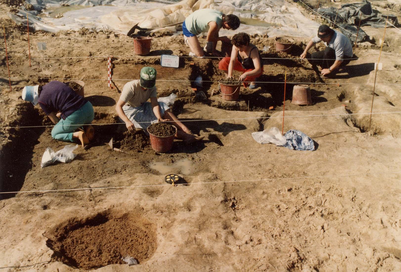 Chantier bénévole archéologique