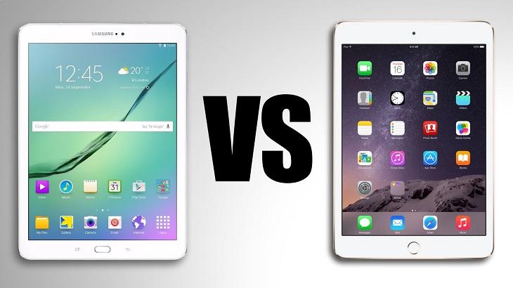 Êtes-vous plutôt tablette Samsung ou iPad 1