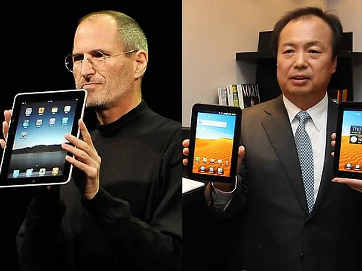 Êtes-vous plutôt tablette Samsung ou iPad 4