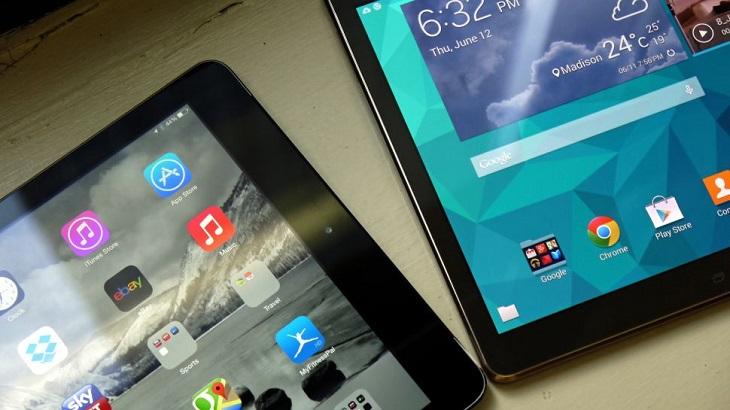 Êtes-vous plutôt tablette Samsung ou iPad 5