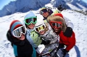 escapades entre amis : au ski !