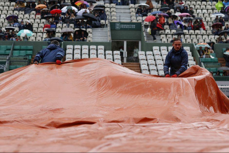 Roland Garros sous la pluie 2