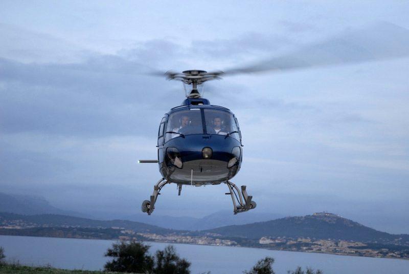 Pilotage d'hélicoptere