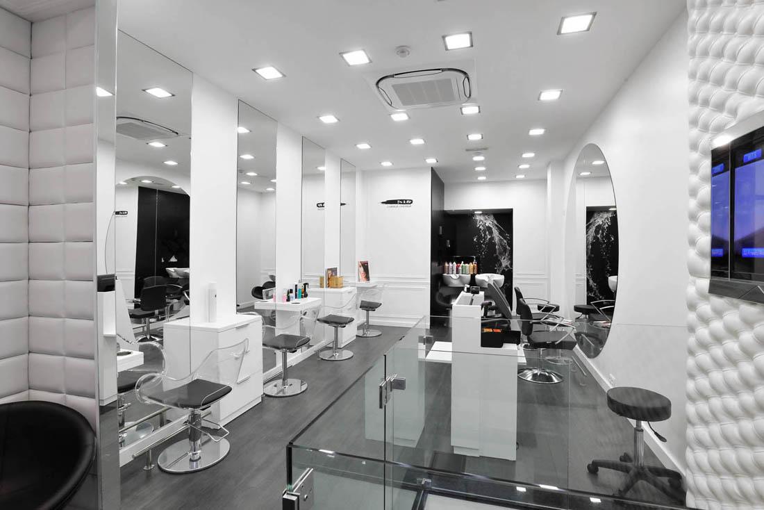 Elegant Mobilier Salon De Coiffure Complet Pas Cher