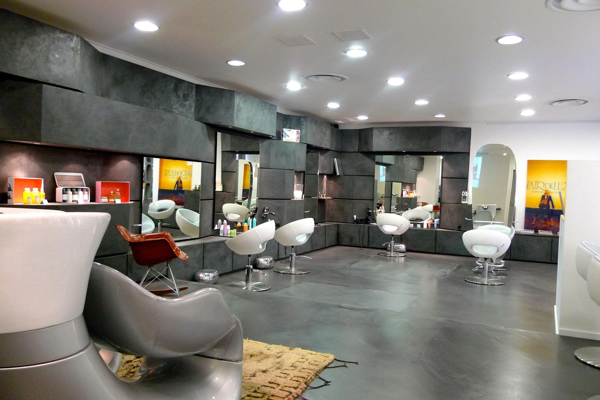 Great Mobilier Salon De Coiffure Complet Pas Cher