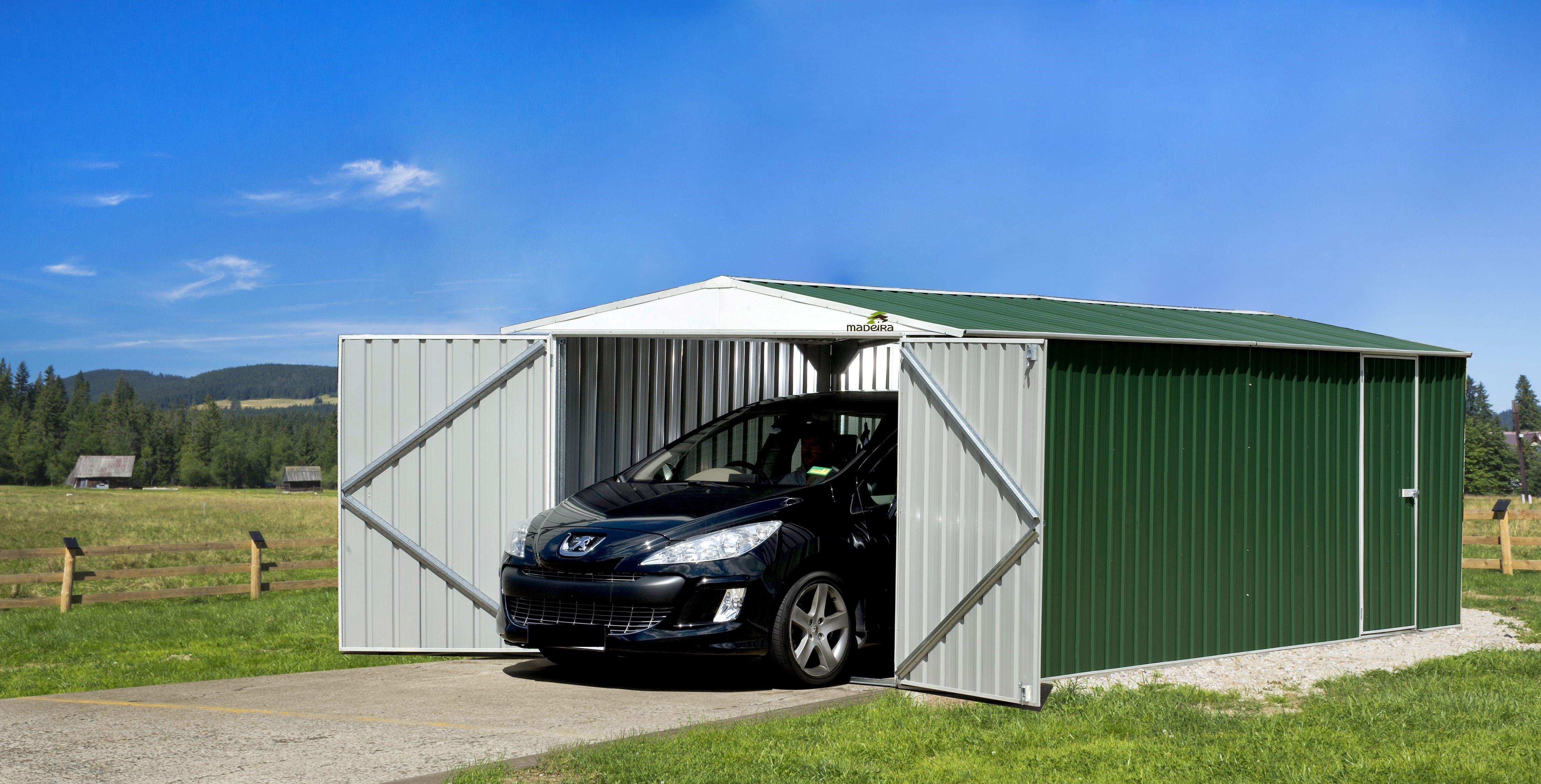 un abri m tallique pour votre camping car et auto. Black Bedroom Furniture Sets. Home Design Ideas